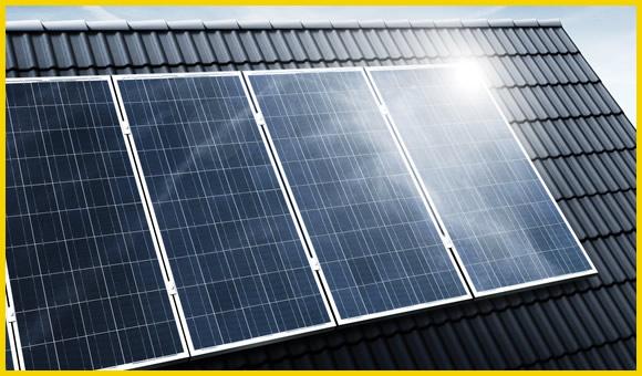 Installatie zonnepanelen en zonnestroom
